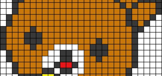 Как нарисовать по клеточкам разные рисунки?