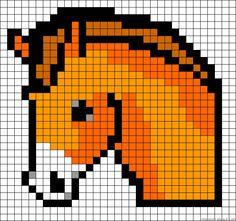 Pixel Art Chevaux