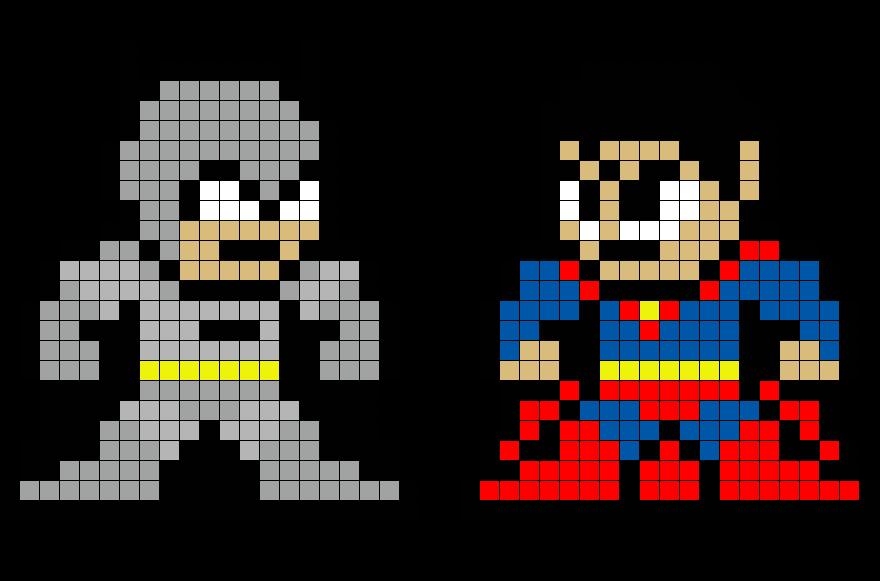 batman vs superman pixel - photo #1
