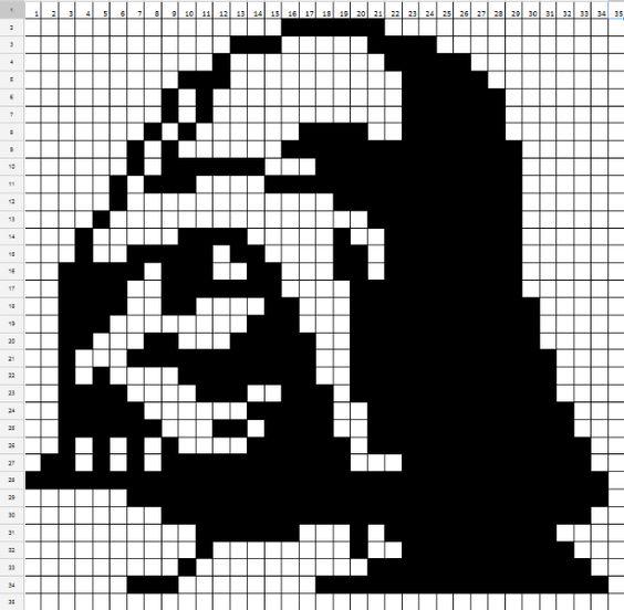 Star wars схема вязания 21