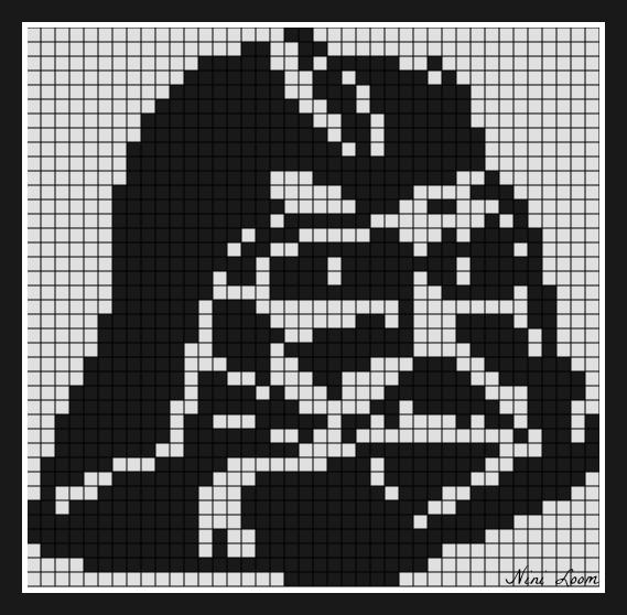 Dessin Pixel Star Wars Bb8